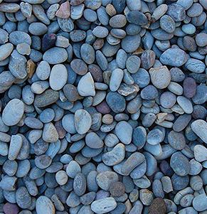 arctic grey pebbles